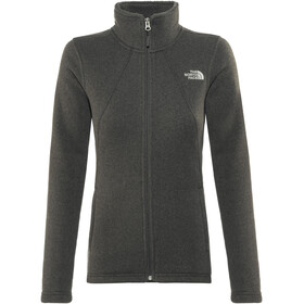 The North Face W's Crescent Fleece Jacket Tnf Black Heather